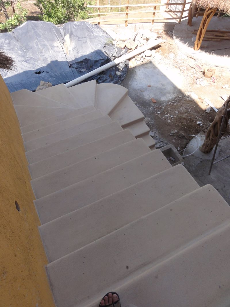 Main ext stairs from top