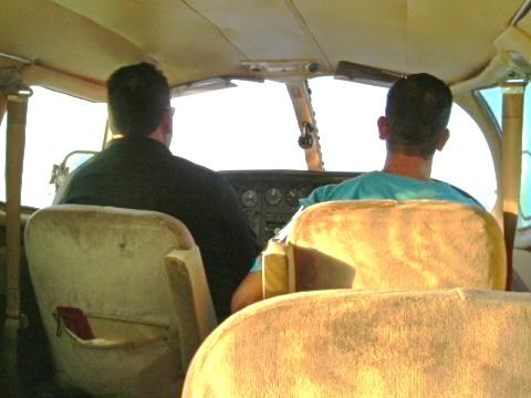 Talpa inside plane