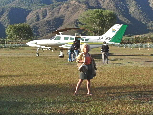 At Mascota Airfield