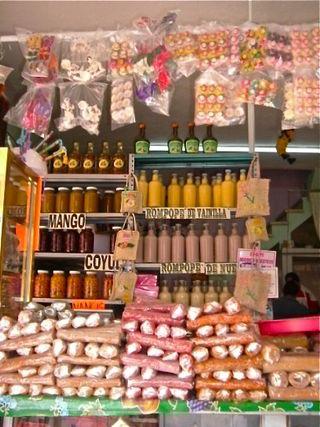 Talpa candy store
