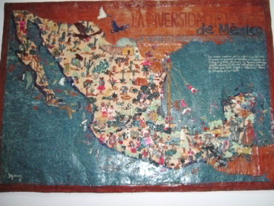 Talpa chitle Mexico map