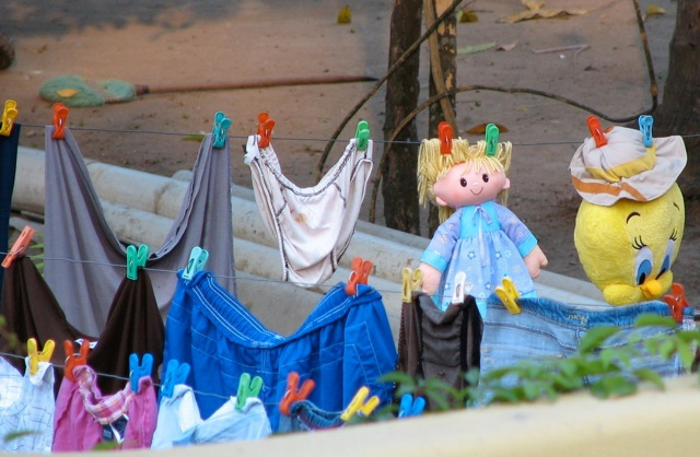Dolls and underpants